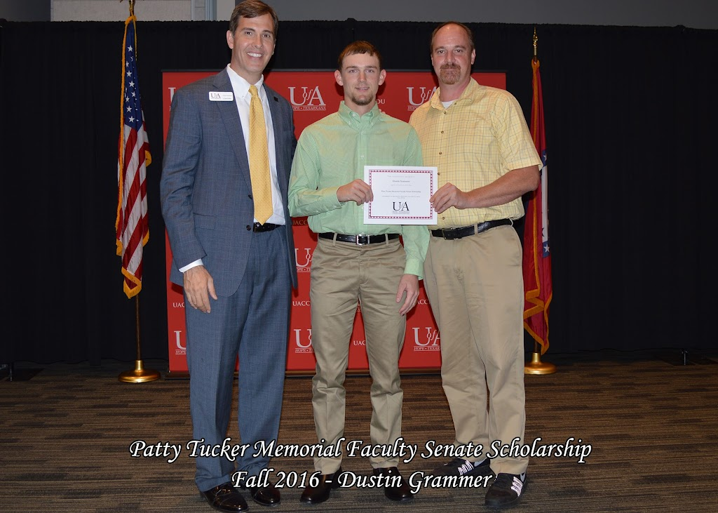 Fall 2016 Scholarship Ceremony - Patty%2BTucker%2BMemorial%2BFaculty%2BSenate%2BScholarship%2B-%2BDustin%2BGrammer.jpg