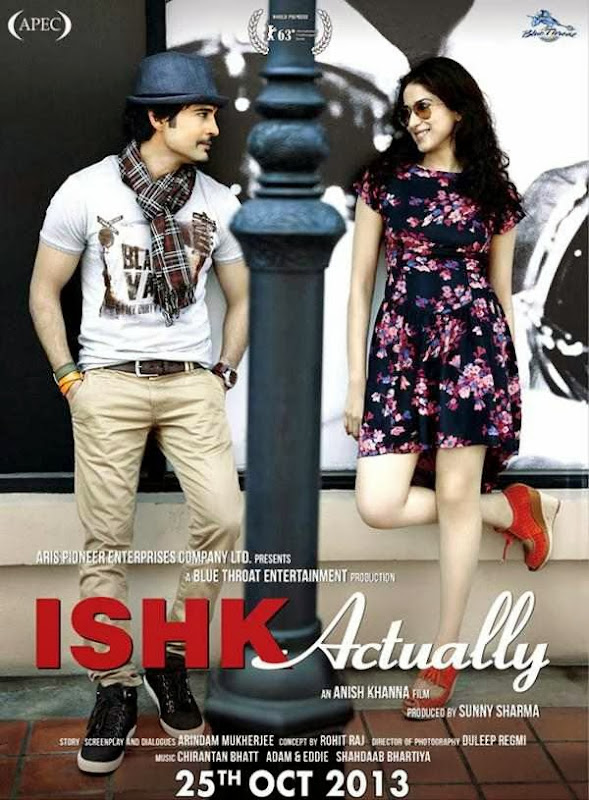 Poster Of Hindi Movie Ishk Actually (2013) Free Download Full New Hindi Movie Watch Online At alldownloads4u.com