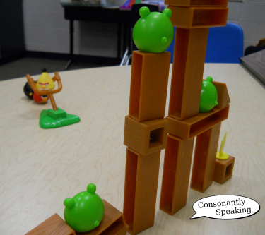 Angry Birds Board Game in Speech 2