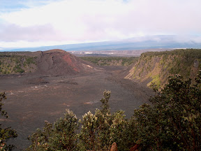 Kilauea Iki Crater from Kilauea Iki Overlook
