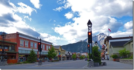 Downtown Banff, AB