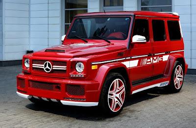 Mercedes-Benze G63 AMG custom