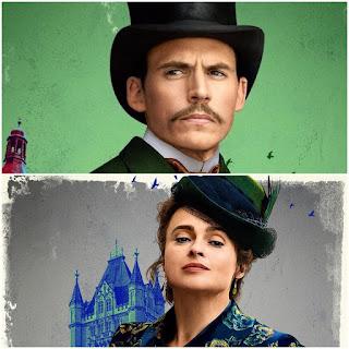 Mycroft Holmes and Eudoria Holmes
