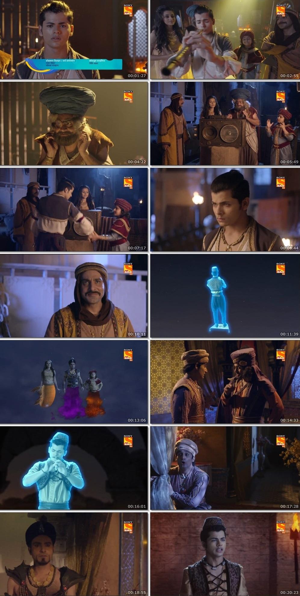 Screenshots Of Hindi Show Aladdin – Naam Toh Suna Hoga 2019 Episode 294 300MB 720P HD