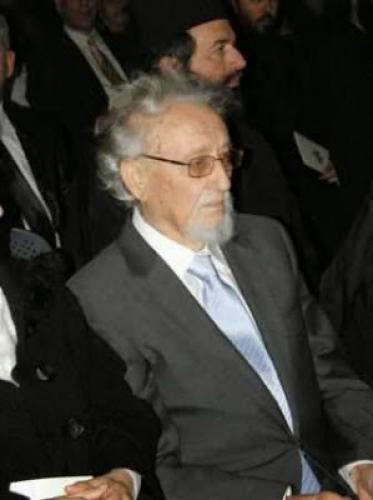 Professor Stylianos Papadopoulos Buried At Mount Athos