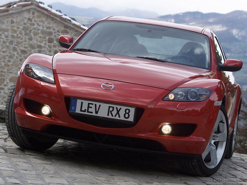 2007 mazda rx 8 coupe specifications pictures prices. Black Bedroom Furniture Sets. Home Design Ideas