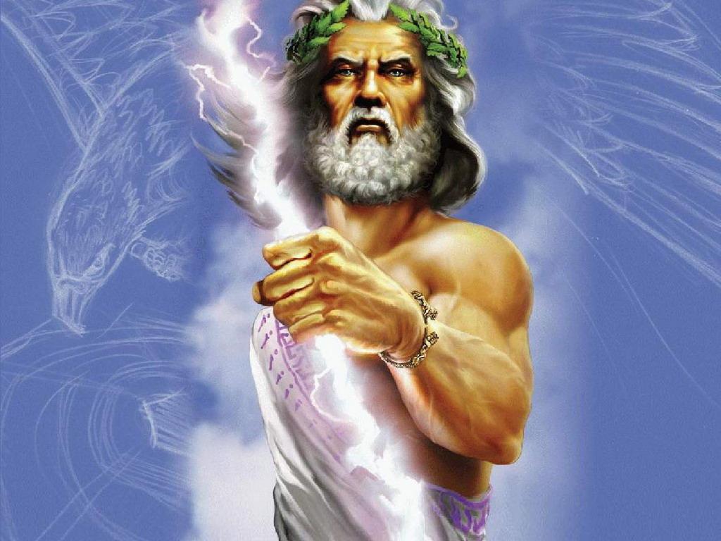 Resultado de imagen de la mitología, zeus