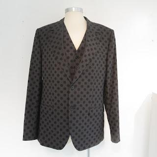 Dolce & Gabbana NEW Polka Dot Blazer & Vest