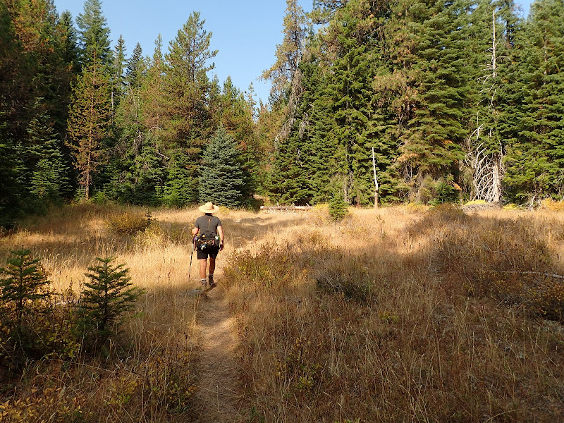 Cherry Creek Trail Sky Lakes Wilderness Oregon