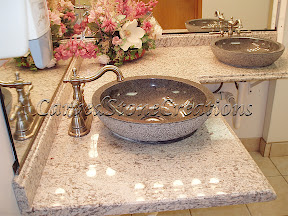 Interior, Kitchen & Bath, Stone Vanities, Vanities, Vessel Sinks