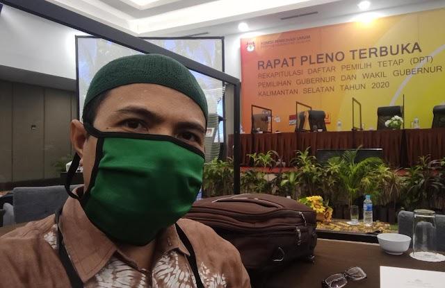 Pleno Rekapitulasi DPSHP, DPT Kotabaru Ditetapkan 209.201