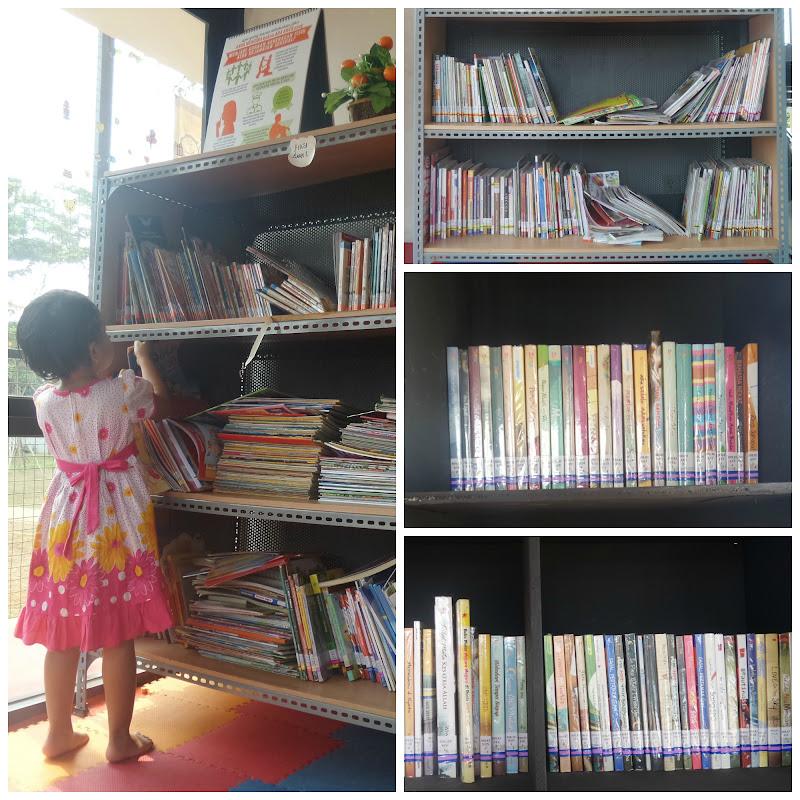 RPTRA Kembangan Perpustakaan
