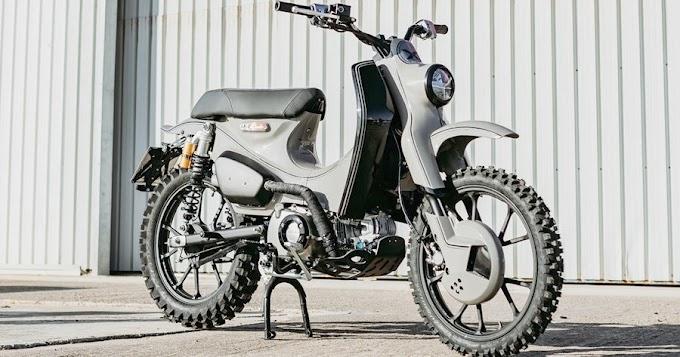Finally 2022 Reveal the new Honda Super Cub 125X !