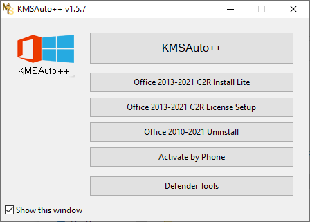 KMSAuto++ v1.5.7