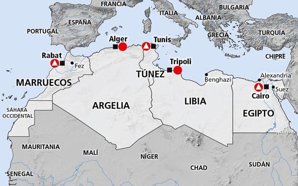Graves tensiones entre Argelia y Marruecos que amenazan con desestabilizar toda África.