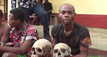 ICYMI: Police Parade Suspected Ritualist, Recover Two Missing Children In Cross River