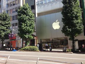 Apple Store 渋谷 2013年9月19日午前9:50ごろ