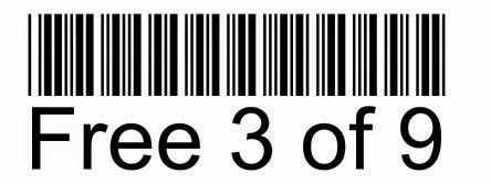 Code39條碼字型檔下載 http://greenwares.blogspot.com/2014/07/code39-3of9ttf.html