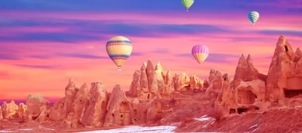 Férias na Capadócia, Turquia