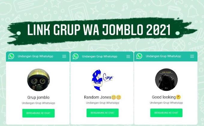 100+ Link Grup Whatsapp Jomblo 2021