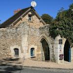 Abbaye des Vaux de Cernay : pavillon d'accueil