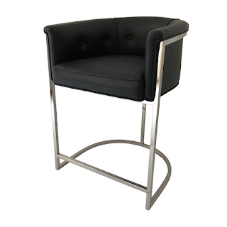 Ateriors Calvin Tufted Seat Counter Stool