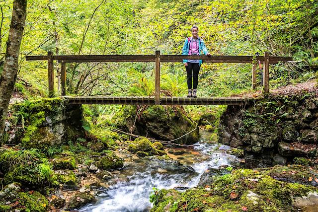 Cruzando el río Pendón