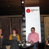 (L to R) Guest panellists Sofie Laguna, Karri Hedge, Andrew Kelly and Immediate Past President Liz Steele