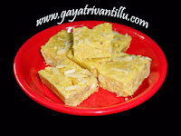 http://www.gayatrivantillu.com/recipes-2/sweets-and-savory/orange-fudge