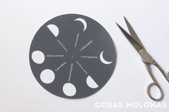 fases de la luna para niños1