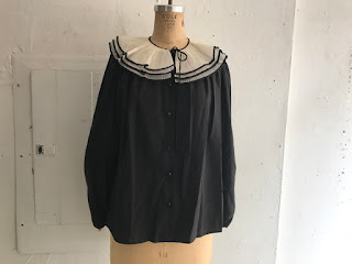 Valentino by Jack Mulqueen Collared Blouse