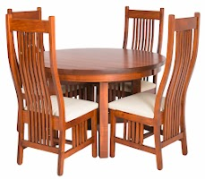 Vail Table and Chairs in Iconic Maple