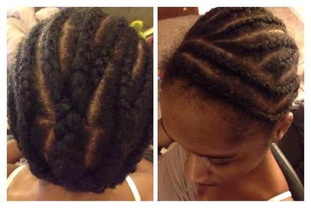 Crochet Hair Side Part : Desire My Natural!: Doing Her Hair Series! Bob Cut Crochet Braids ...