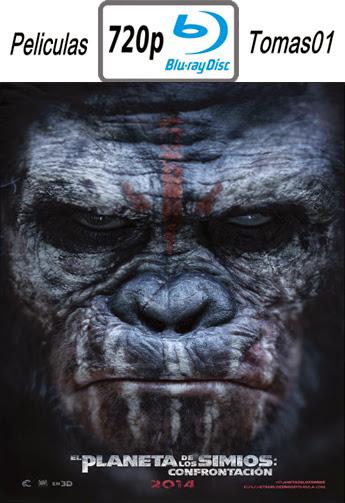 El Planeta de los Simios: Confrontacion (2014) BRRip 720p