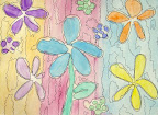 Water Color Flowers by Lydia