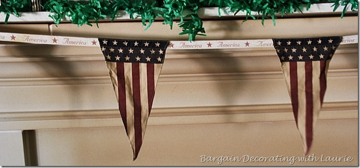 Mantel Banner for Patriotic Decor