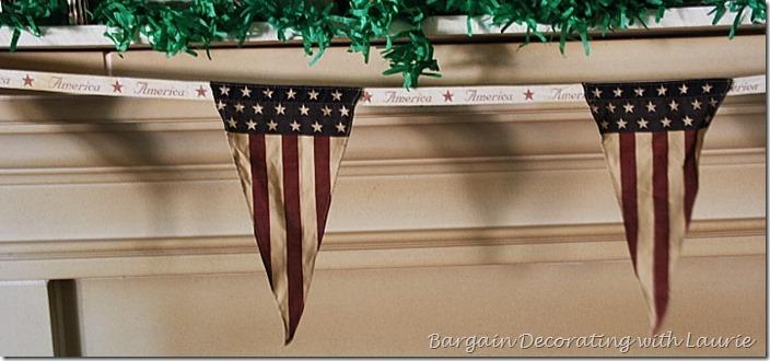 Mantel Banner for Patriotic Decor