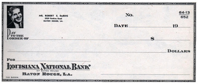 bank check photo