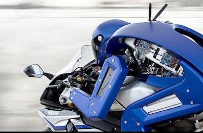 Yamaha presenta Motobot, robot motociclista al Tokyo Motor Show