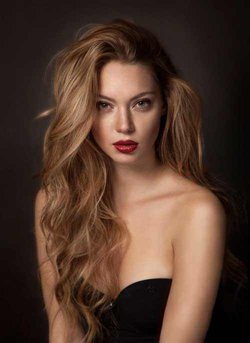 cool and trendy dark blonde color 2016 2017 - Real Hair
