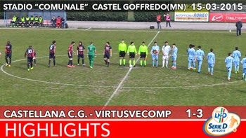Castellana C.G. - VirtusVecomp - Highlights del 15-03-2015