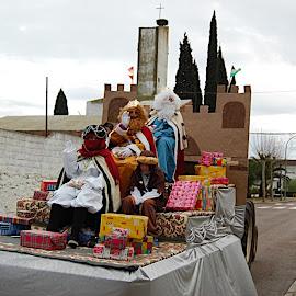 Reyes Magos en Lácara