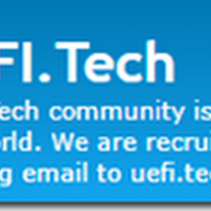 Launch of UEFI.Tech