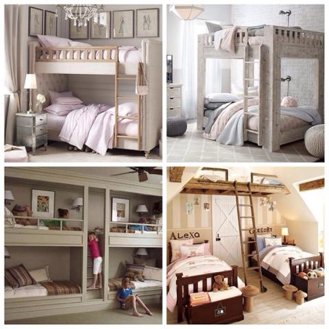 Dormitorios compartidos o un espacio para la hermandad - Dormitorios infantiles mixtos ...