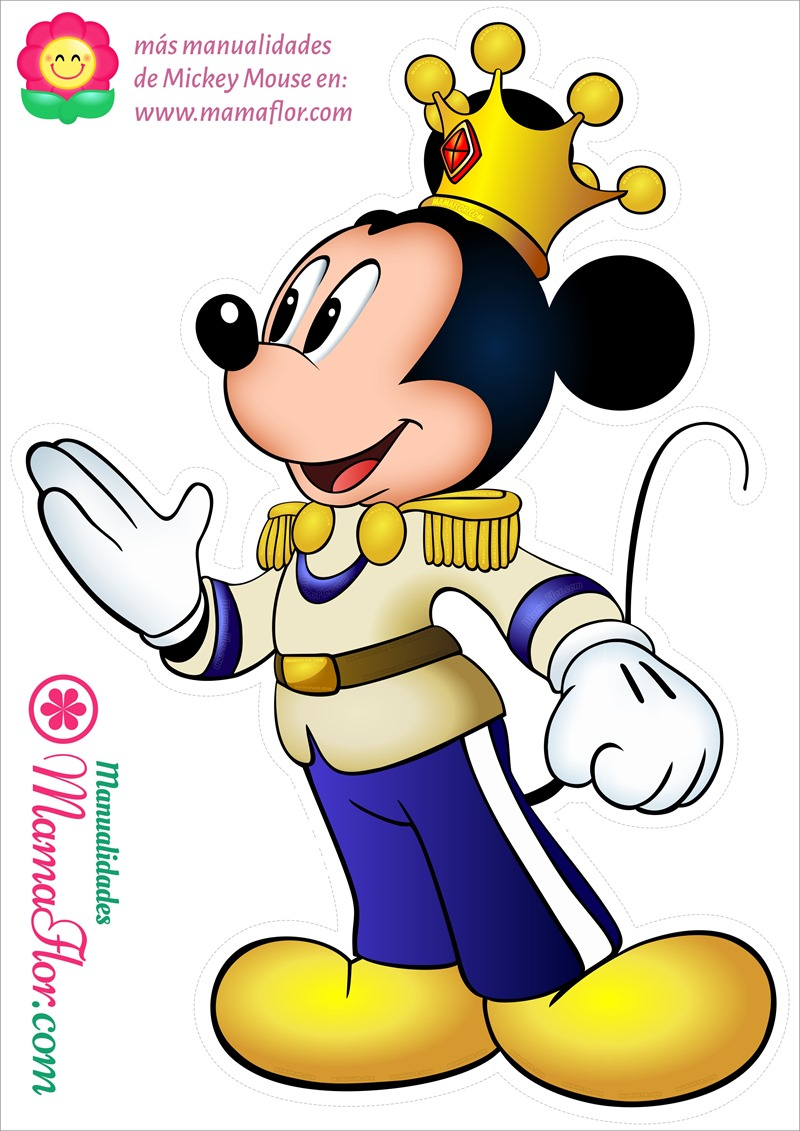 A4 - Mickey Príncipe
