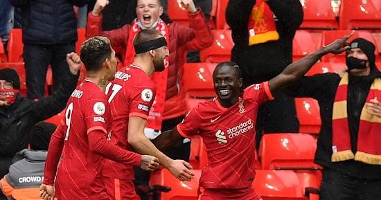 Mane Score gol ke 100 Dalam Kemenangan Liverpool