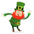Cartoon Funny Leprechaun Cool Free Download Vector CDR, AI, EPS and PNG Formats