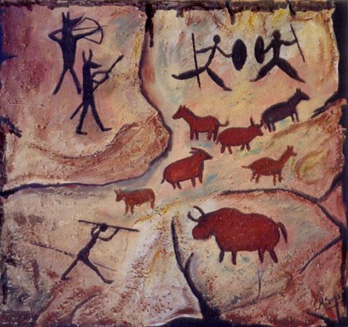 mÚltiplas linguagens pintura rupestre