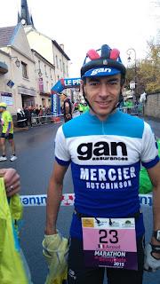 Marathon du Beaujolais 2015, au départ