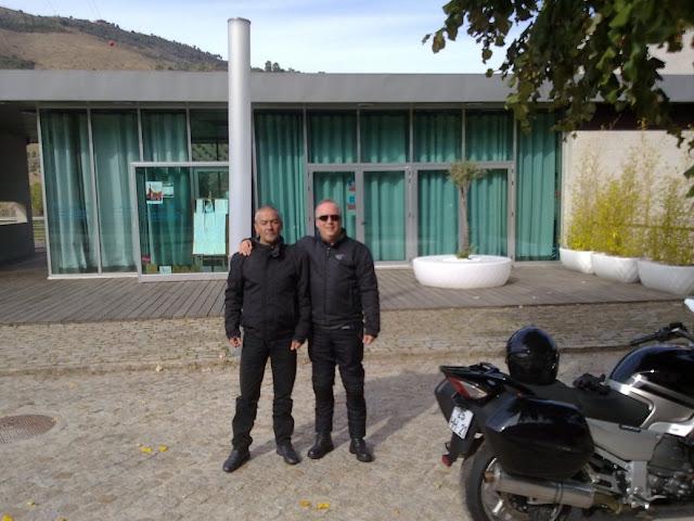 Elísio - Carlos Rosa e Elisio foram ao Pinhão! 291020111724